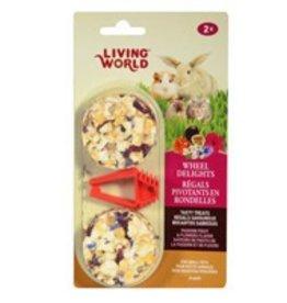 Living World Wheel Delights Passion Fruit & Flowers Flavor 2pk