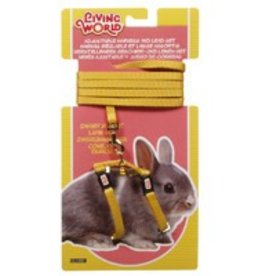 Living World Dwarf Rabbit Harness & Lead Set Yellow