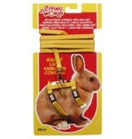 Living World Rabbit Harness & Lead Yellow