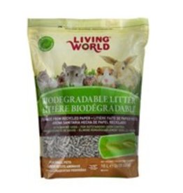 Living World Biodegradable Litter for Small Animals - 10L (610 cu in)