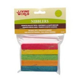 Living World Nibblers Rainbow Chew Toys 5pck