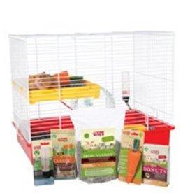 """Living World Deluxe Hamster Starter Kit - 46cm L x 29cm W x 37cm H (18"""" x 11.4"""" x 14.5"""")"""