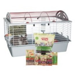 "Living World Deluxe Rabbit Starter Kit - 78cm L x 48cm W x 50cm H (30.7"" x 18.9"" x 19.7"")"