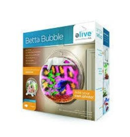 ELIVE Betta Bubble Aquarium- White
