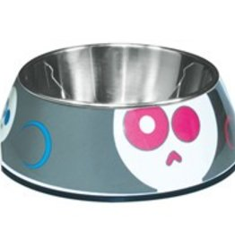 Dogit Dog It Style Bowl Skulls Pattern XS