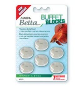 Marina Marina Betta Buffet Blocks Vacation Food 12g