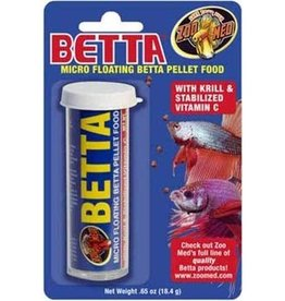 Zoo Med Betta Micro Floating Pellets .65OZ