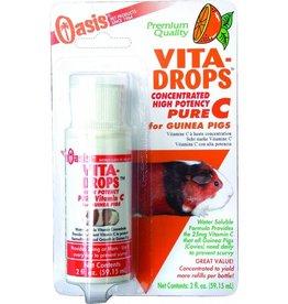 Oasis Guinea Pig Vita-Drops Pure C 2oz