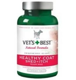 Vets Best Vets Best Healthy Coat Shed and Itch Supplements - 50ct.