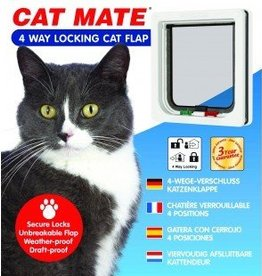Cat mate 4 way locking cat door