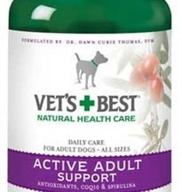 Vets Best Vets Best Active Adult Support 90tabs