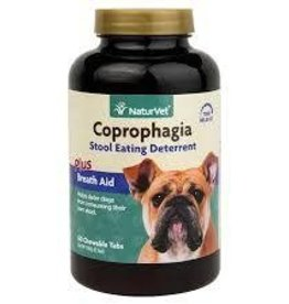 Naturvet Coprophagia Stool Eating Deterrent 60CT chewable