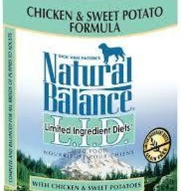 Natural Balance Natural Balance LID Chicken & Sweet Potato 13OZ