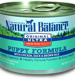 Natural Balance Natural Balance Puppy Formula With Chicken, Duck & Brown Rice 6oz