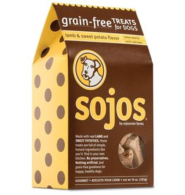 sojos SOJOS Grain Free Dog Treat Lamb and Sweet Potato 10oz