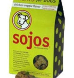 sojos Sojos Treats for Dogs Chicken Veggie 10oz