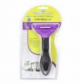FURminator FURminator Long Hair DeShedding MD/LG Cats