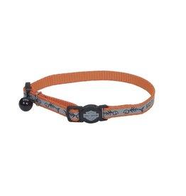 Harley Davidson Reflective Adjustable Breakaway Collar 3/8in x 8-12in OFS