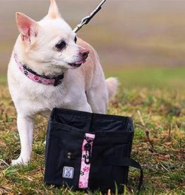 RC Pets RC Pets Water Wallet Blk Pitter Patter Pink
