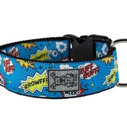 RC Pets RC Pets Wide Clip Collar L Comic Sounds