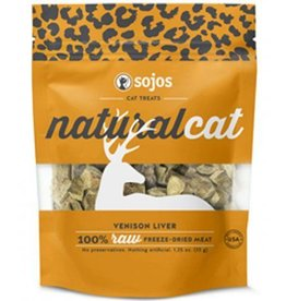 sojos SOJOS Natural Cat Venison Liver Treats 1oz