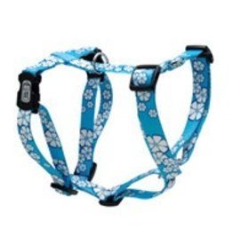 Dogit Dogit Style Adjustable Dog Harness, Aloha Blue, Medium