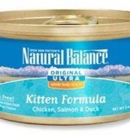 Natural Balance Natural Balance Chicken, Salmon & Duck Kitten Canned Food 3oz