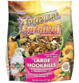 Tropical Carnival Natural Large Hookbill Food 5lbs