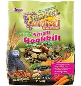 Tropical Carnival Natural Small Hookbill Food 3.5lb