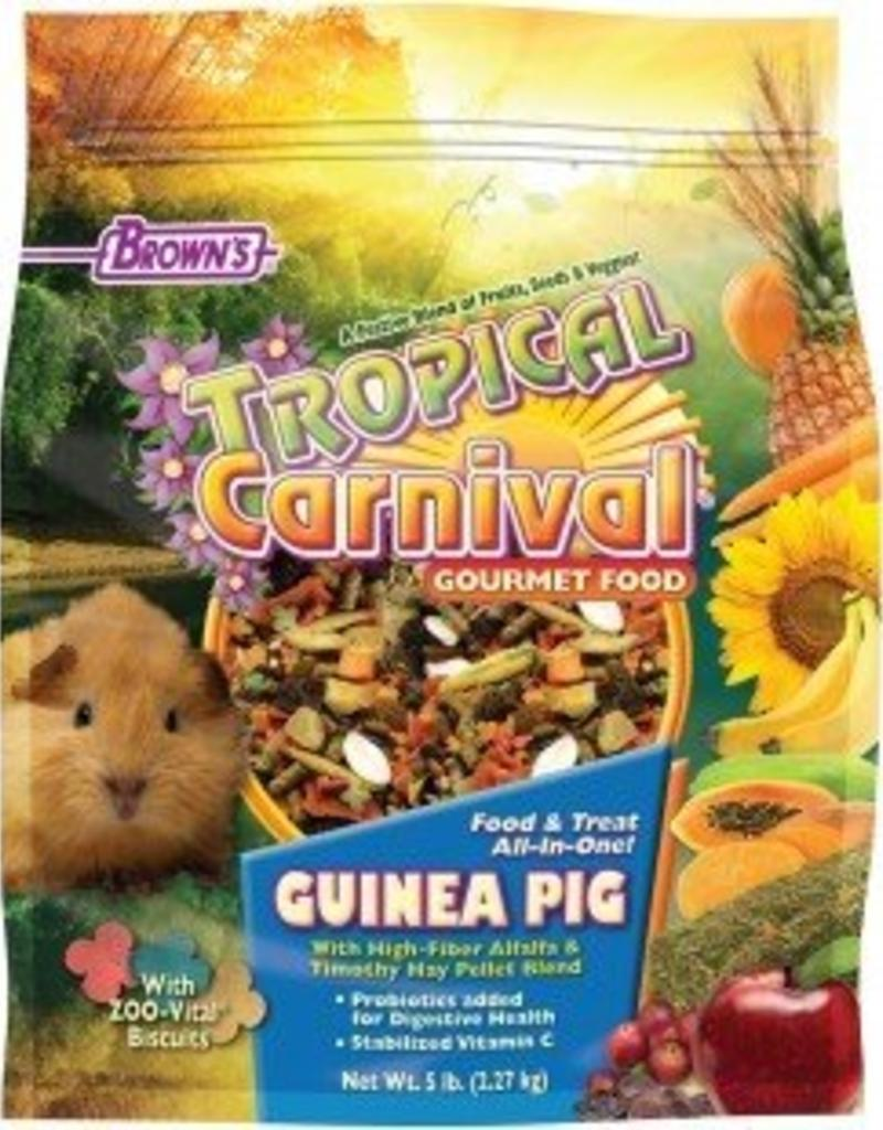 Tropical Carnival Gourmet Guinea Pig Food 5lbs
