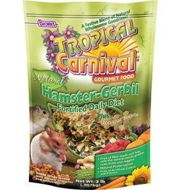 Tropical Carnival Natural Hamster-Gerbil Food 2lb