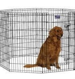 "Midwest Exercise Pen with Door Black 24"" x 48"""