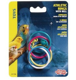 Living World Athletic Rings with Bell
