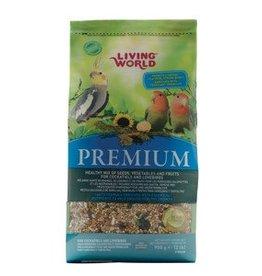 Living World Premium Mix Cockatiels and Lovebirds