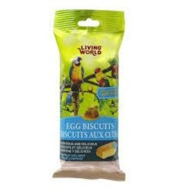 Living World Honey Flavored Egg Biscuits for Birds