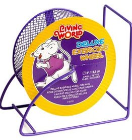 "Living World Deluxe Exercise Wheel - Purple - 12.5 cm (5"")"