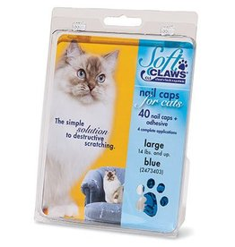 Softclaws Soft Claws Cat Clear Large