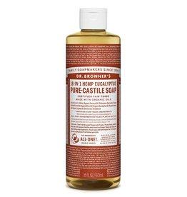 Dr.Bronner's 18-in-1 Eucalyptus Pure Castile Soap 473ml