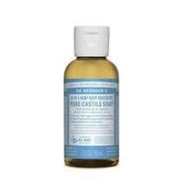 Dr.Bronner's 18-in-1 Baby Unscented Pure Castile Soap 59ml