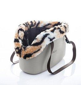 Zeus Pico Tote Bag with Liner, Beige