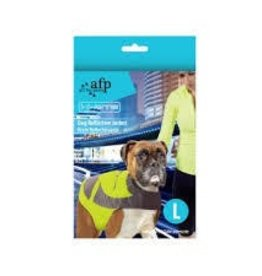 All Four Paws All for Paws K-Nite Dog Reflective Jacket Large