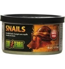 Exo Terra Exo Terra Canned Unshelled Snails 1.7 oz