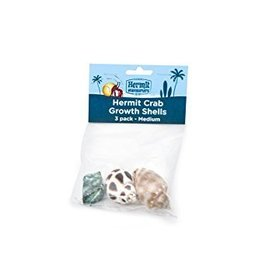 Fluker's Flukers Hermit Crab Growth Shell Medium 3pk