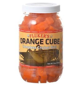 Fluker's Flukers Orange Cube-Complete Cricket Diet 12oz