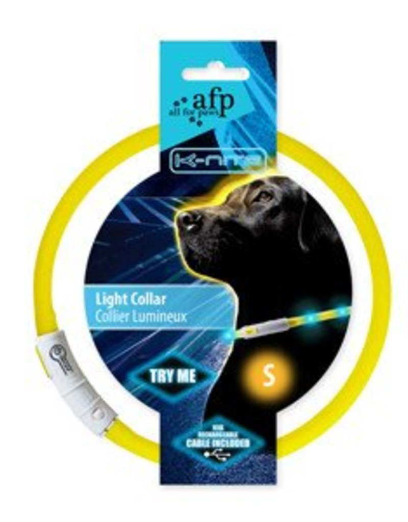 All Four Paws All For Paws K-nite LED Light Collar S
