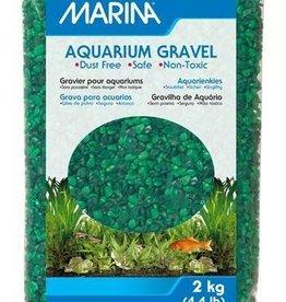 Marina Marina Decorative Aquarium Gravel - Green Tone on Tone - 10 kg (22 lbs)