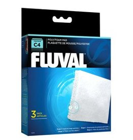 Fluval Fluval C4 Poly Foam Pad - 3pc