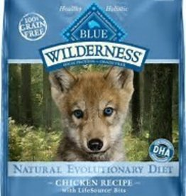 Blue Buffalo Blue Buffalo Wilderness Puppy Diet Chicken Recipe 24lb (10.89kg)
