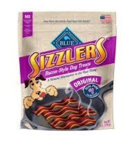 Blue Buffalo Blue Sizzlers Bacon-Style Pork Treats Original Value Size 15oz