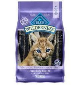 Blue Buffalo Blue Buffalo Wilderness Kitten Diet Chicken Recipe 5lb (2.27kg)